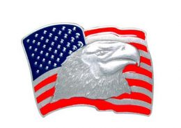American Flag Eagle Belt Buckle