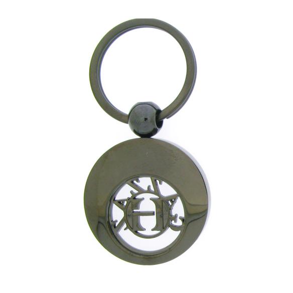 Custom design relief trolley coin keychain,cj-20004