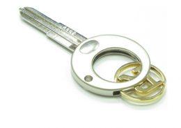 Key shape trolley coin keychain,cj-20005