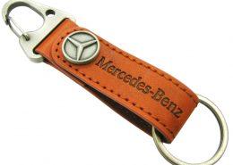Car Logo Leather Keychain-Chung Jen Metal Keychain Manufacturer
