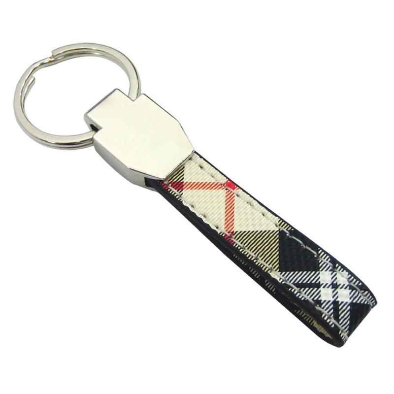 Blank PU Leather Keychain-Chung Jen Souvenir Manufacturer