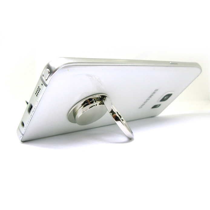 Zinc alloy mobile ring holder convenient for watching videos