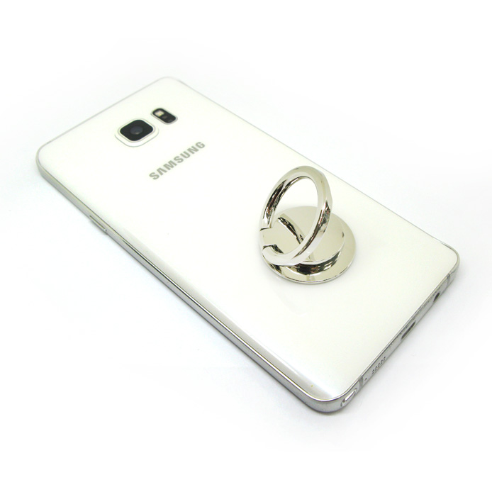 High quality zinc alloy mobile ring holder