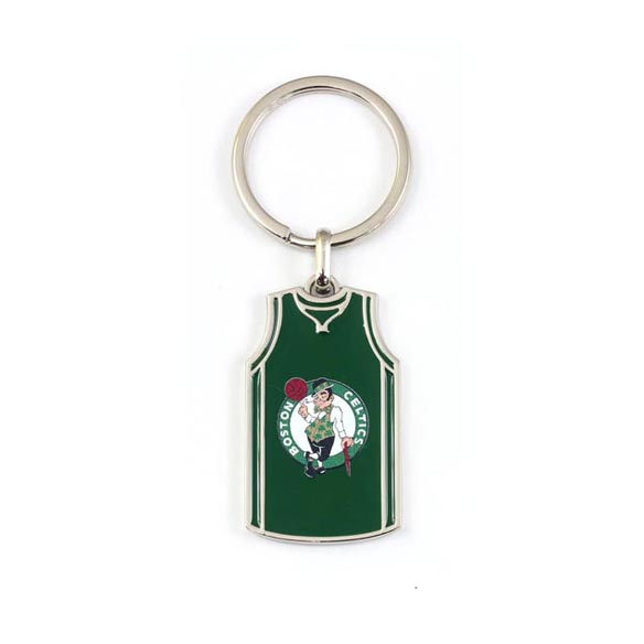 Customized basketball jersey digital printing keychain