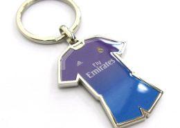 Football jersey keychain for digital printing