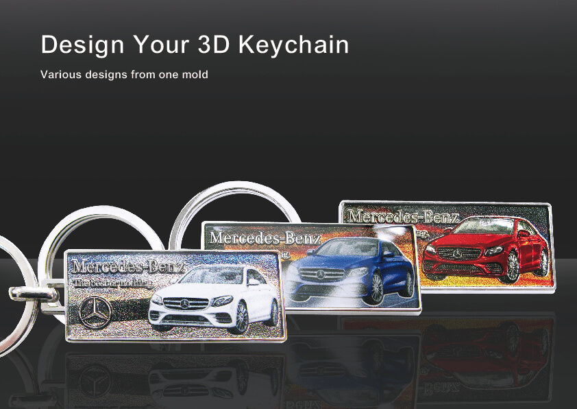 Branded Automotive Keyring