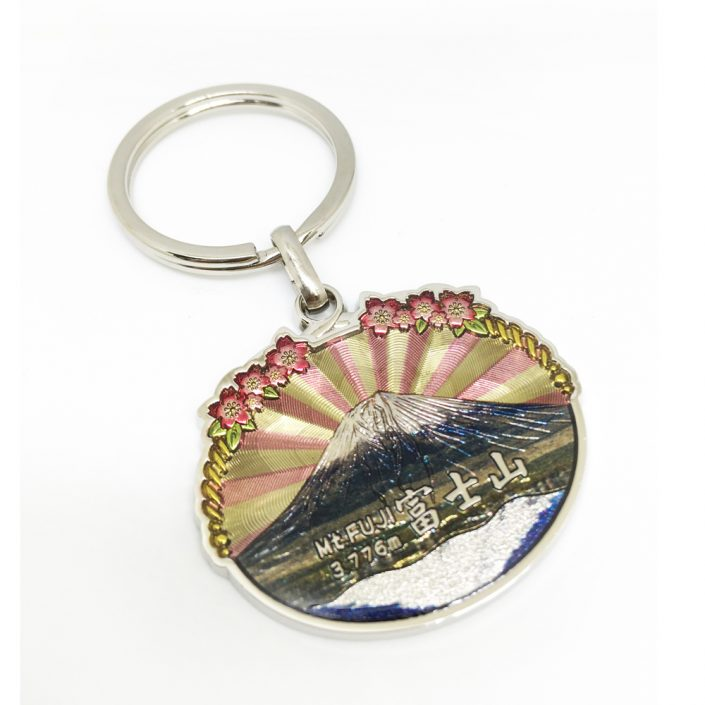 Japan Mt. Fuji Souvenir Keychain