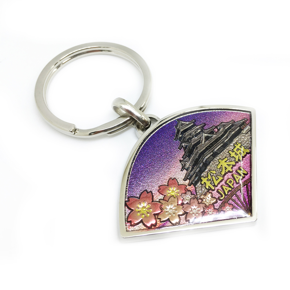 3D beautiful picture scenery keychain