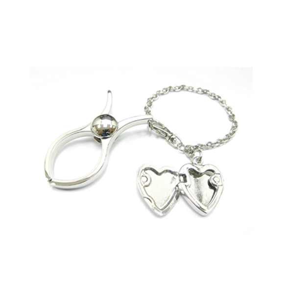 Golf Glove Clip with metal charms