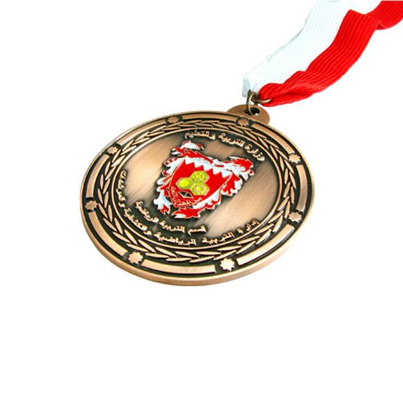 Custom Logo Award Medal