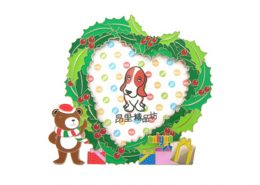 promotional product and corporate gift - Heart Shape Metal Photo Frame