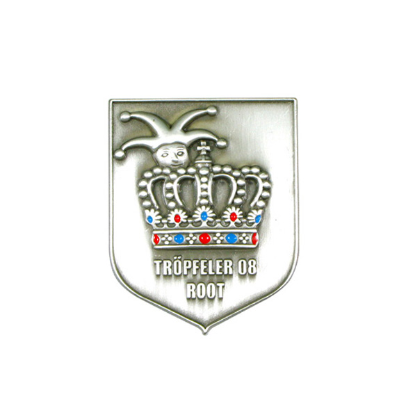 Custom Shield Shape Pin Badge