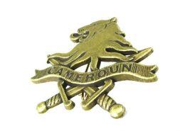 3D Logo Custom Pin Badge