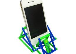 Jeliku ver.1- mobile phone stand with advertising print