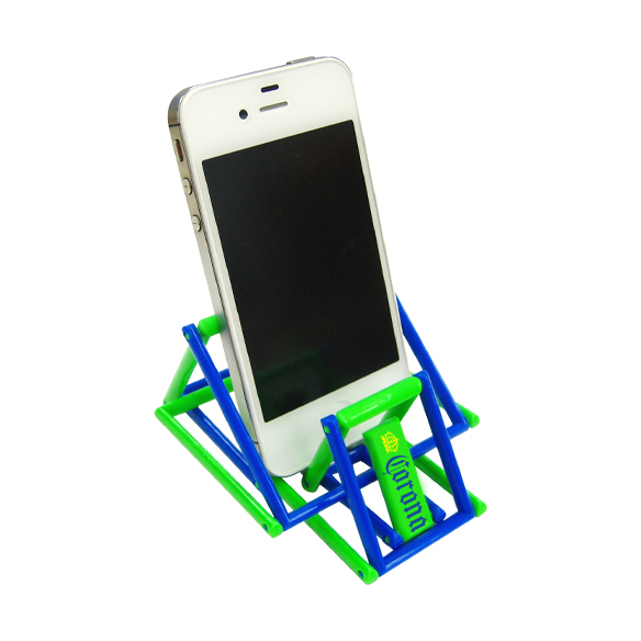 Jeliku ver.1- mobile phone stand with advertising print
