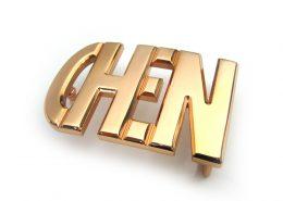 Custom Letter Belt Buckle