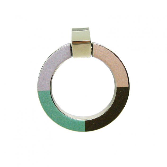 Ring Zinc Alloy Cabinet Door Handles