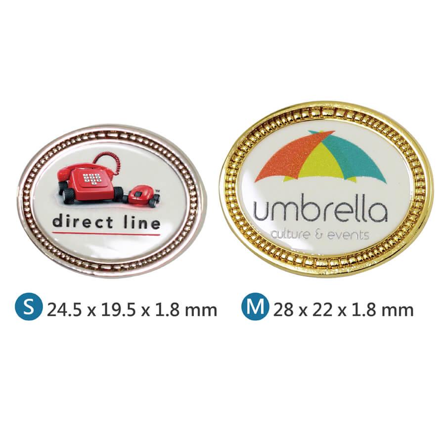 Digital printing pin