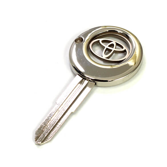 Key shape coin key holder for multi-function