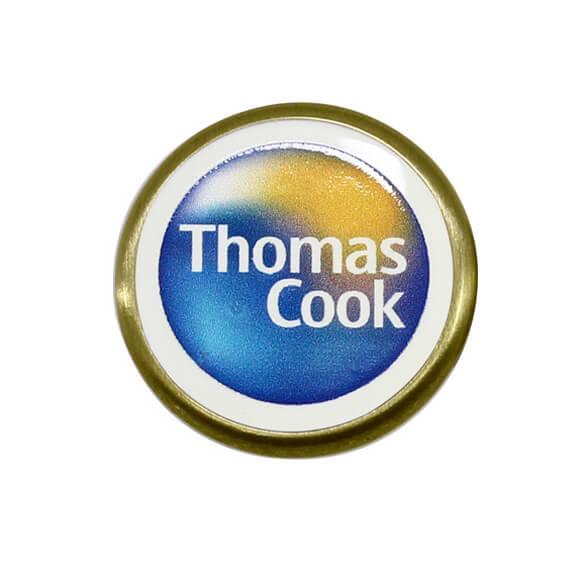 Round Shape Metal Custom Pin Badge with Custom Logo