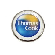 Custom Logo Round Pin with round shape and digital printing