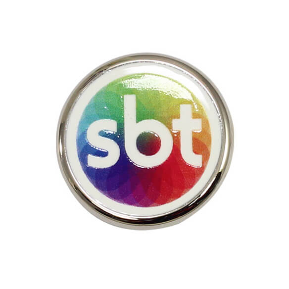 Round Pin with Custom Logo can promote your brand