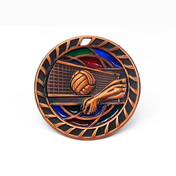 Volleyball Souvenir Medal