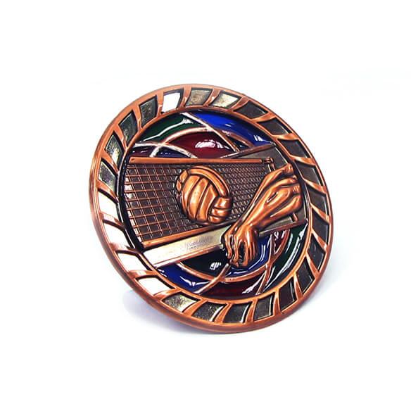 Volleyball Memorial Medal