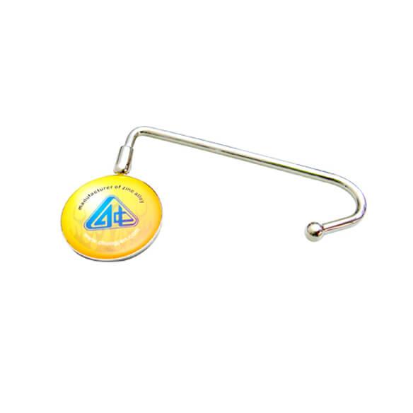 Custom Logo Round Shape Bag Hook