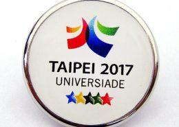 Univerisade Logo Round Pin