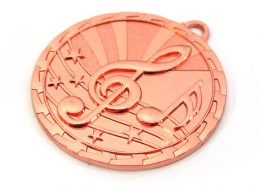 Zinc Alloy Music Award Medal