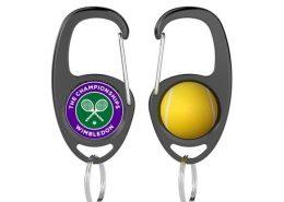 Custom Keychain Hook-Tennis