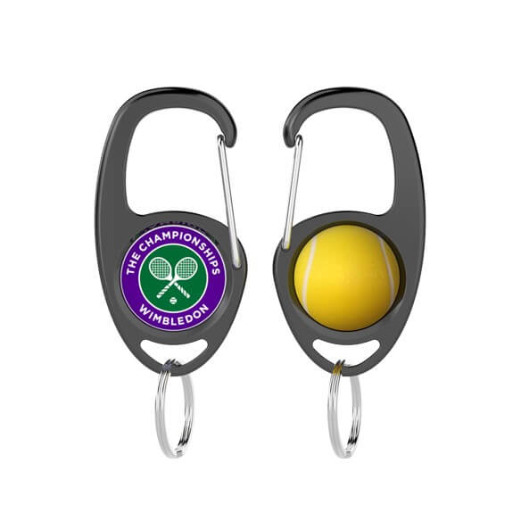 Custom Keychain Hook-Tennis