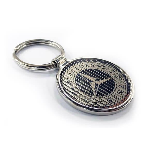 latent image keychain with custom logo