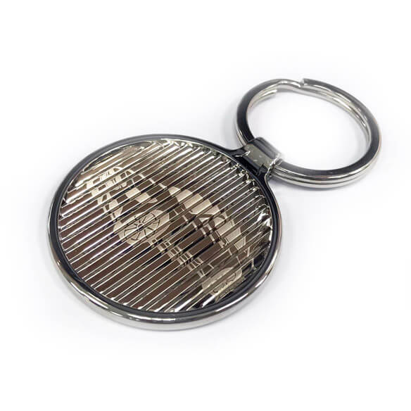 latent image keychain with car logo
