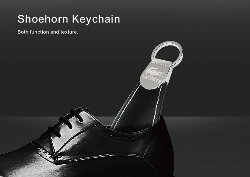 Shoehorn Pull Keychain