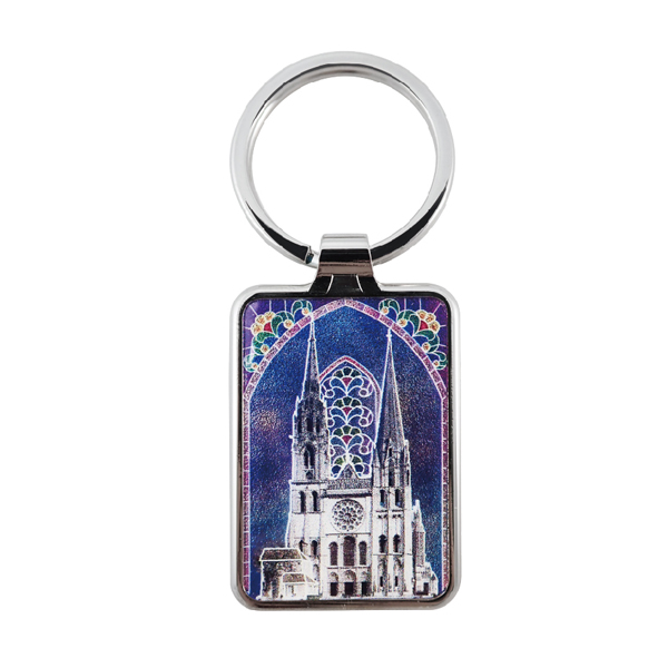 Metal Keychain - Florence Cathedral