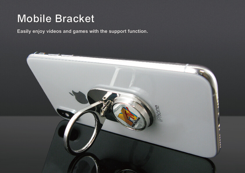 Phone Ring Holder with Magnetic Coin
