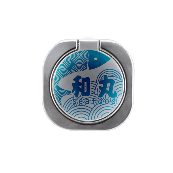 Square Metal Phone Ring Holder