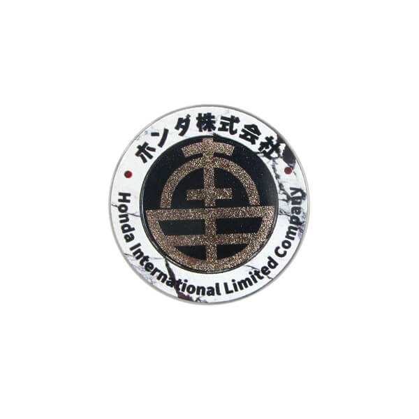 Custom Company Logo Metal Pin Badge