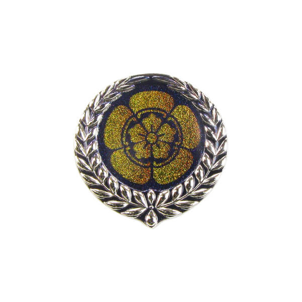 Laurel Wreath Styling Metal Pin Badge