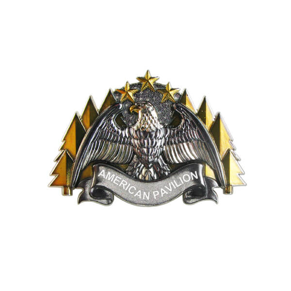 American Style Custom Metal Pin Badge