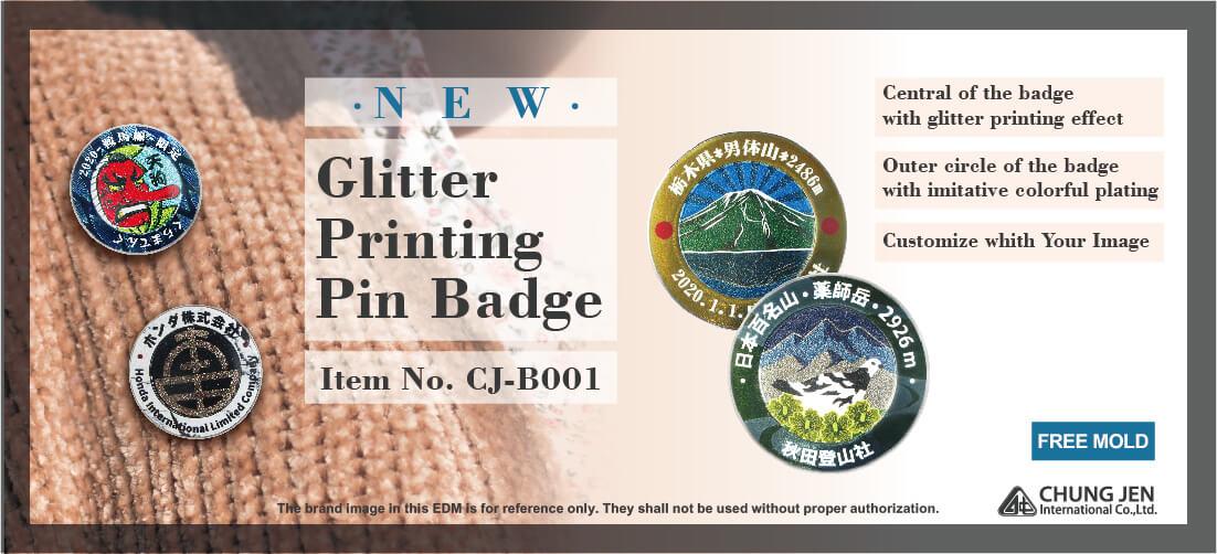 Custom Company Logo Metal Pin Badge