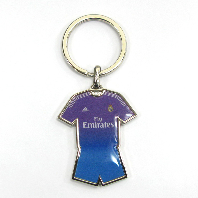 Football jersey keychains for advertising gift