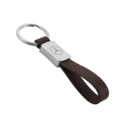 More details on the right side of Car Logo Leather Keychain