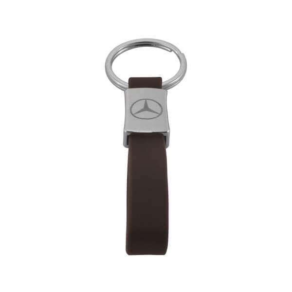 Personal Car Logo Metal Leather Keychain