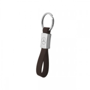 Whole Personal Car Logo Metal Leather Keychain