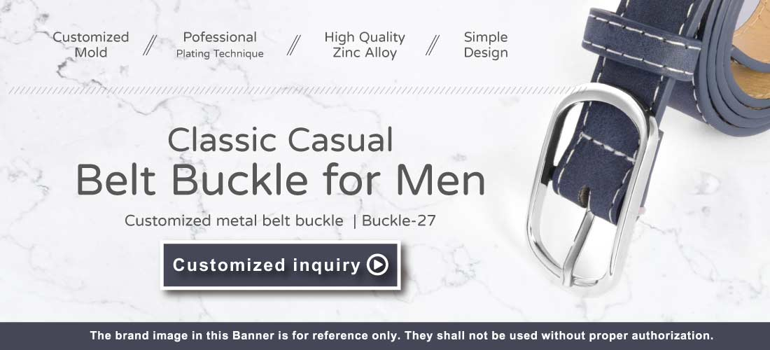 The Banner of Classic Casual Belt Buckle For Men on mobile