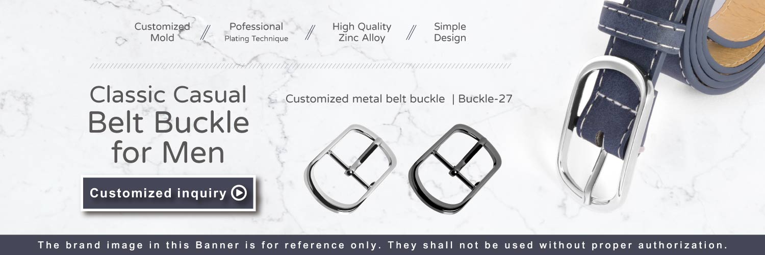 The Banner of Classic Casual Belt Buckle For Men