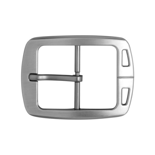 The front side of Men's Metal Belt Buckle For Business
